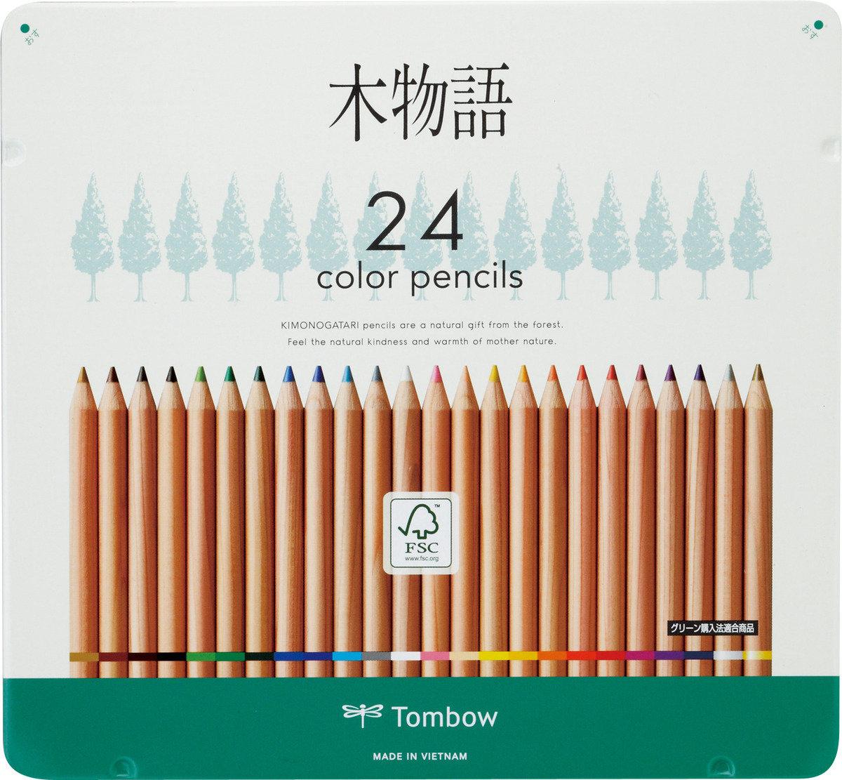 木物語木顏色 24色(鐵盒裝)