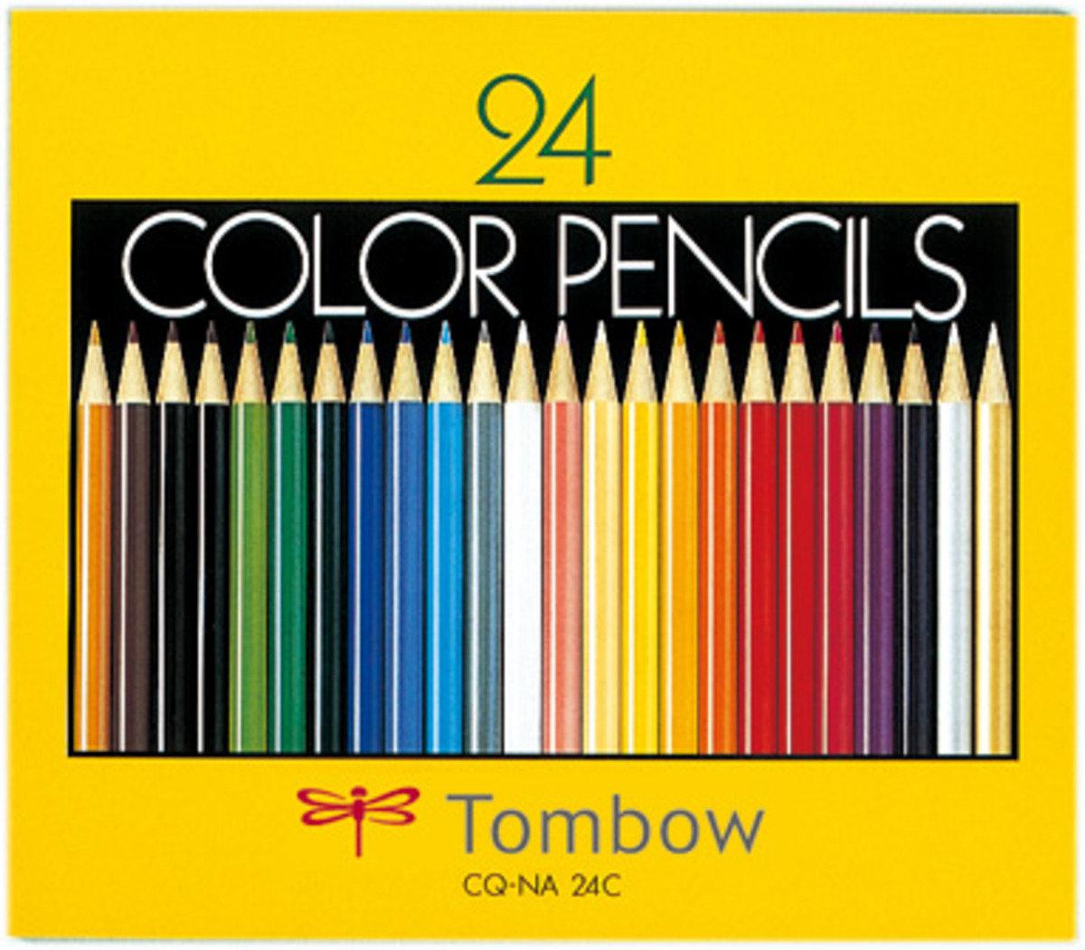 木顏色 24色 (紙盒裝)