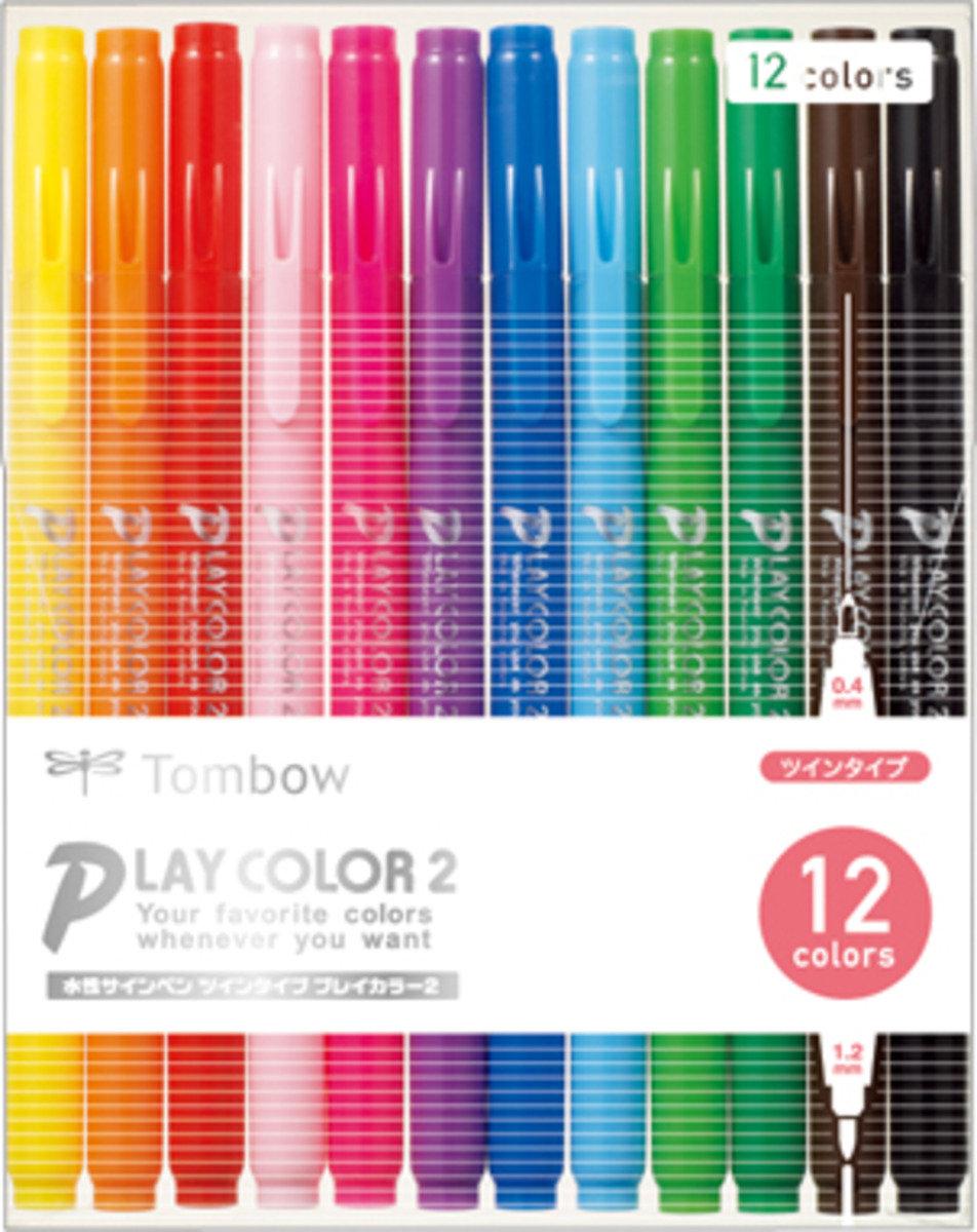 Play Color 2 水筆套裝 (12色)