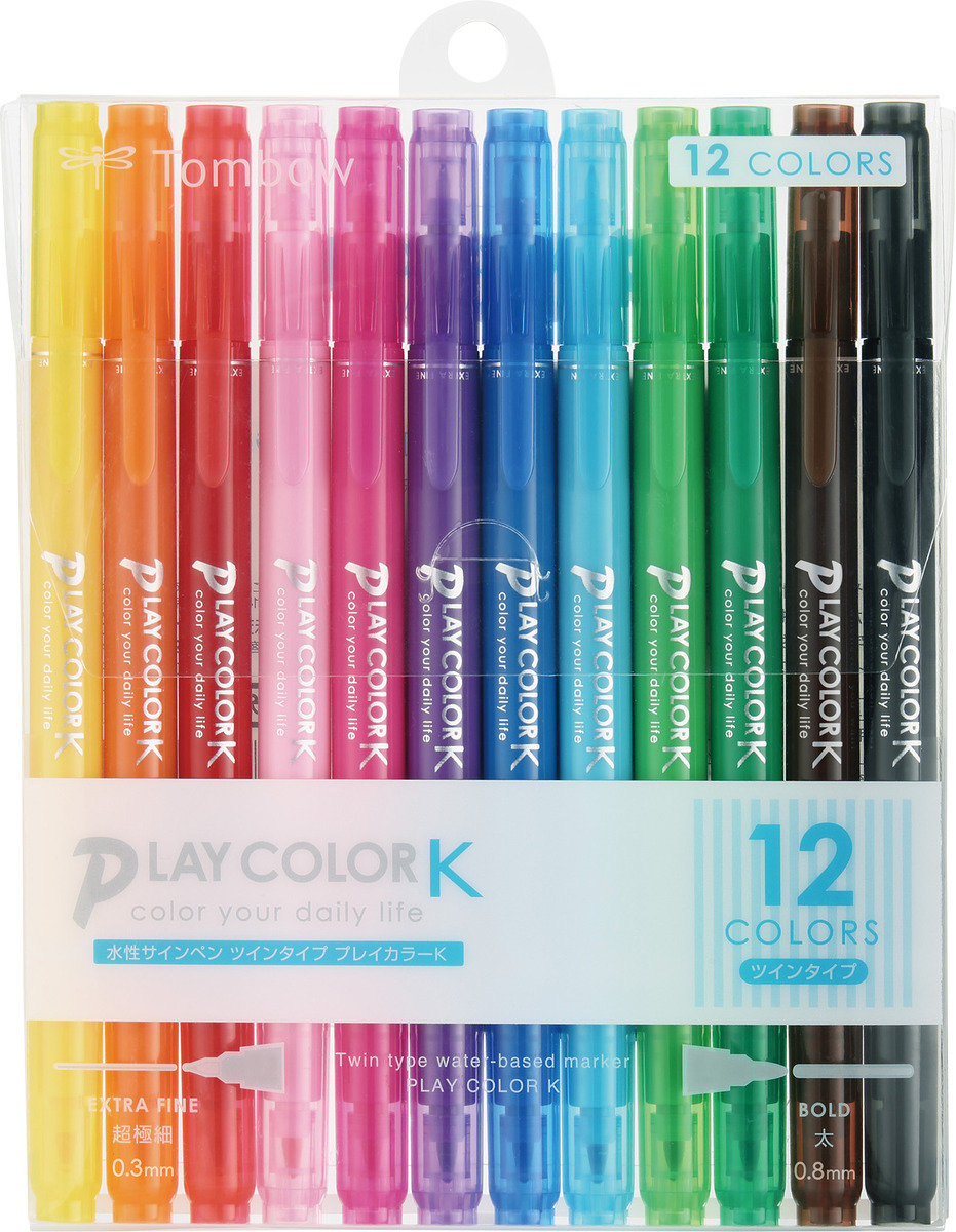 Play Color K 水筆套裝 (12色)