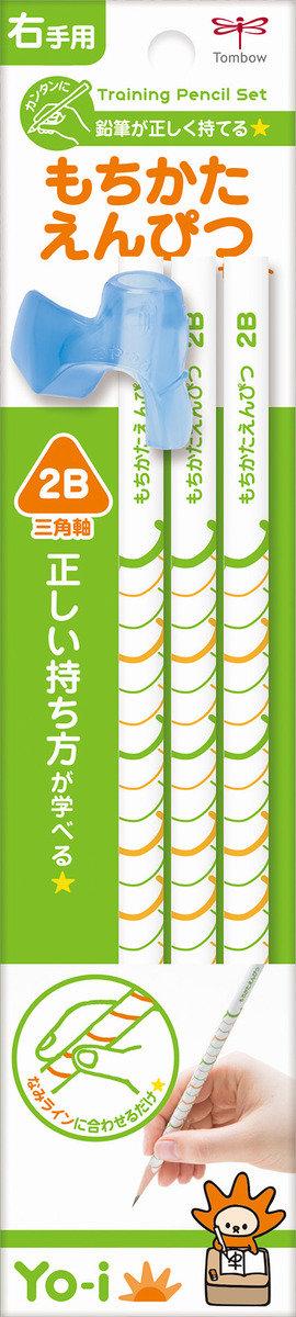 Yo-I 三角鉛筆套裝 (2B)