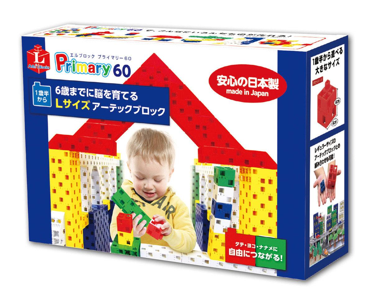 幼兒立體積木 (歲半至三歲.60件裝)
