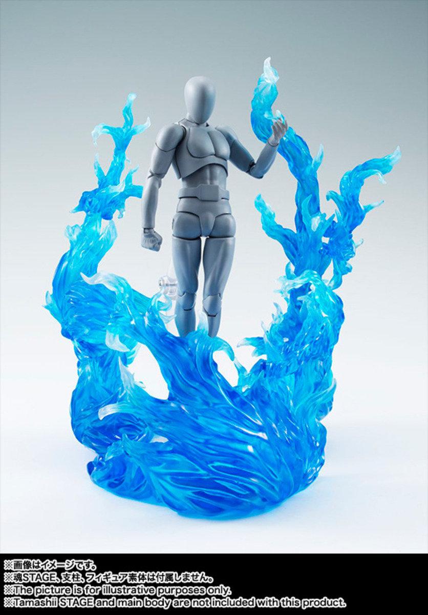 Tamashii Effect - 火焰效果配件 (藍色)