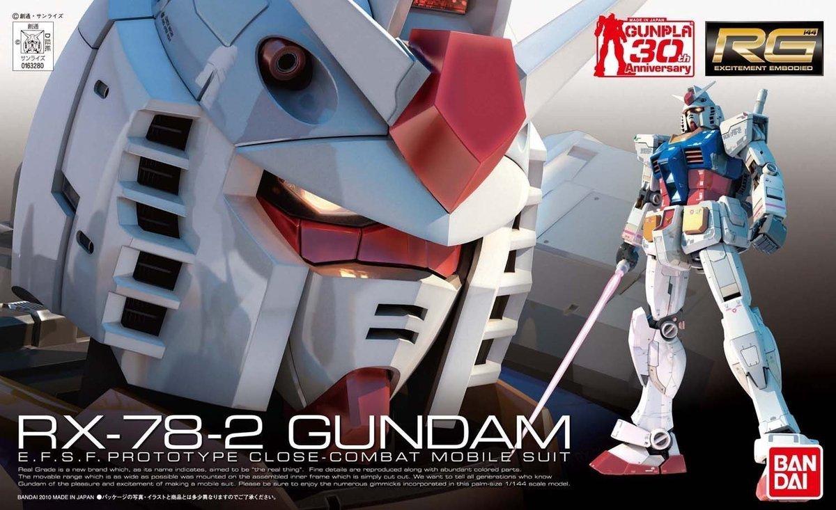 RG 1/44 RX-78-2 高達
