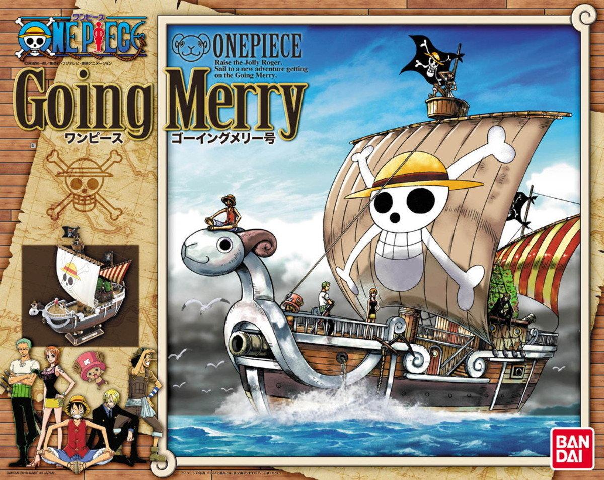 One Piece 海賊船系列 前進號