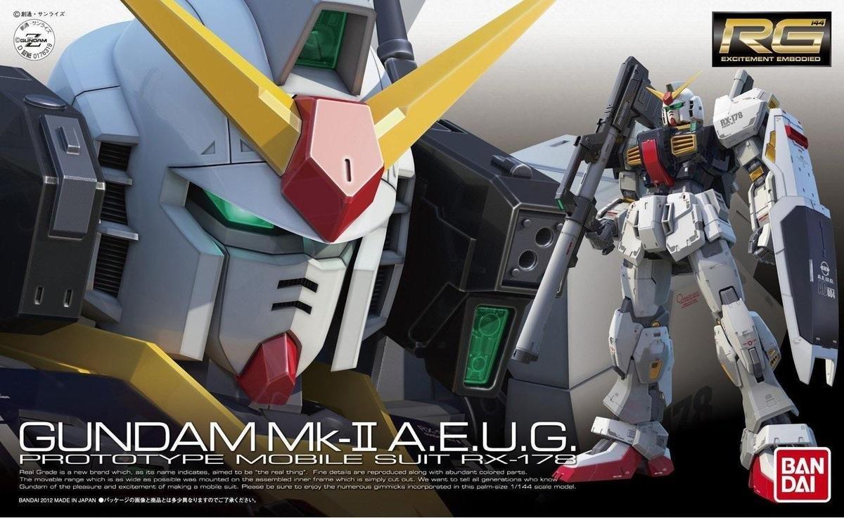 RG 1/144 RX-178 高達 MK-II (奧干)
