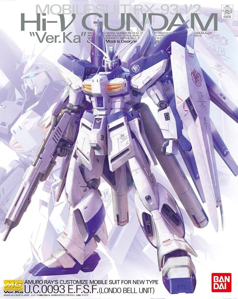 MG 1/100 Hi-Nu 高達 Ver.Ka