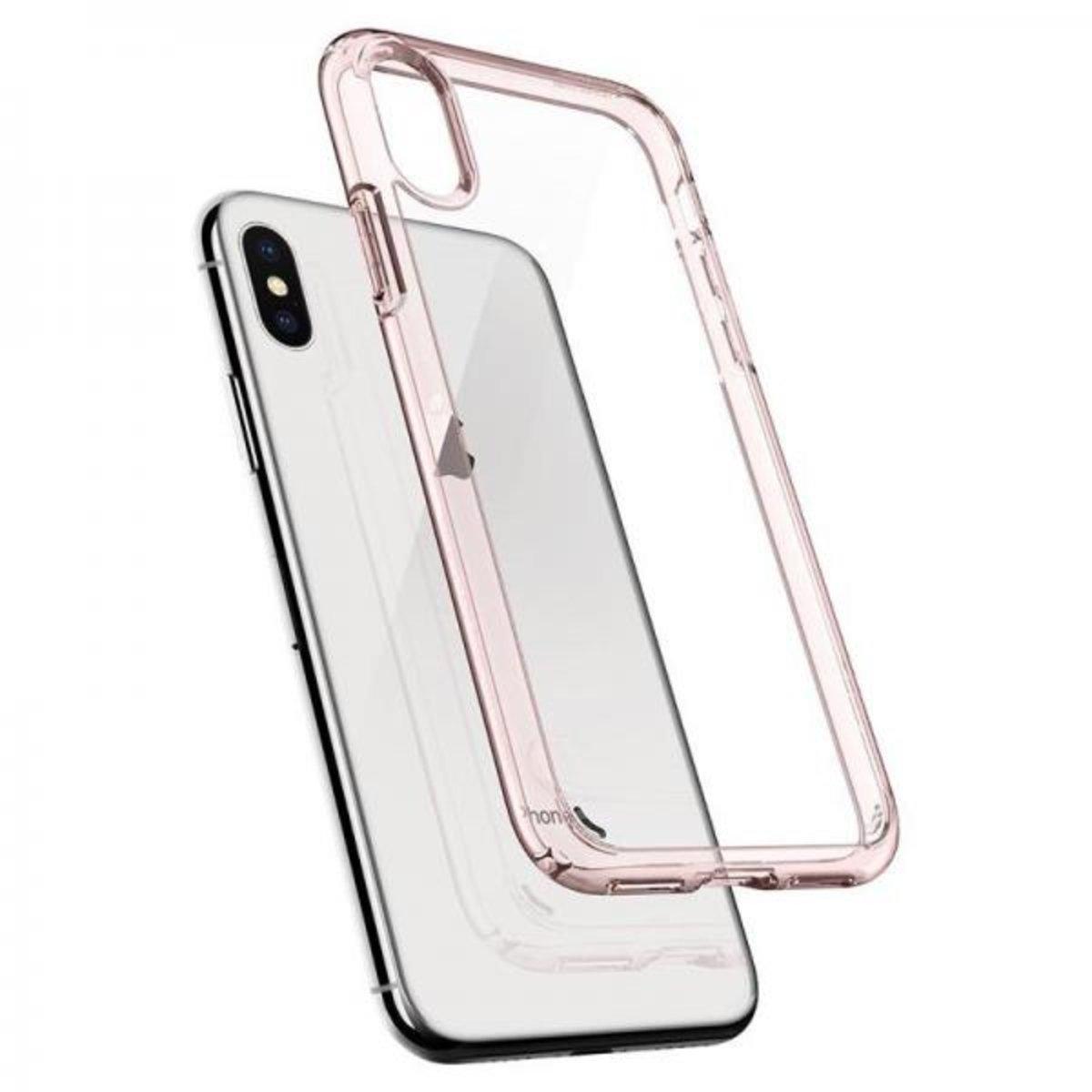 uk availability 20b7f f0925 Spigen   iPhone X Case Ultra Hybrid Pink Clear (Made in Korea ...