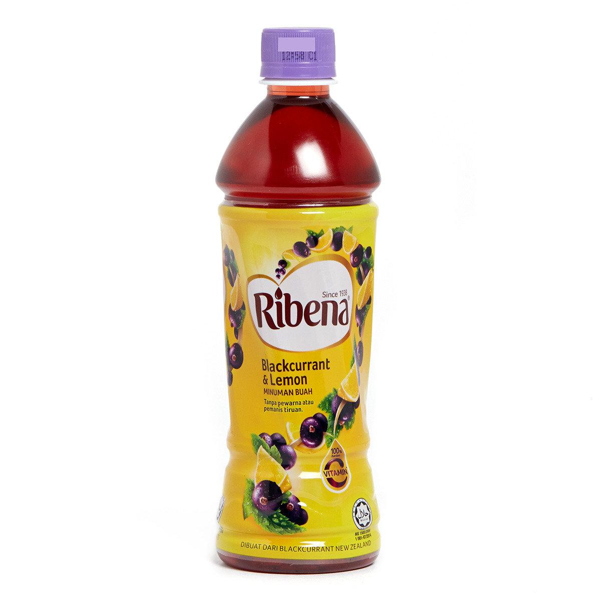 黑加侖子檸檬味飲品