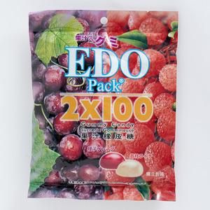 江戶 - 2x100果汁橡皮糖 (荔枝味+提子味)
