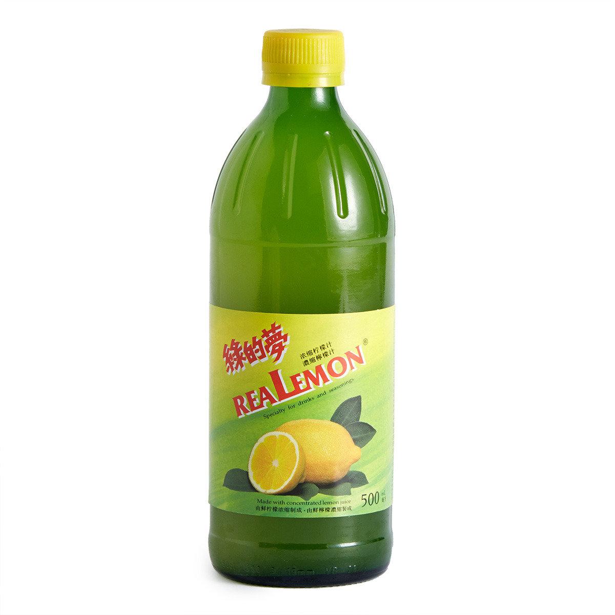 濃縮檸檬汁