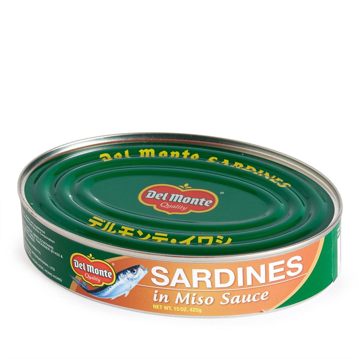 日式麵豉汁沙甸魚 (大罐)