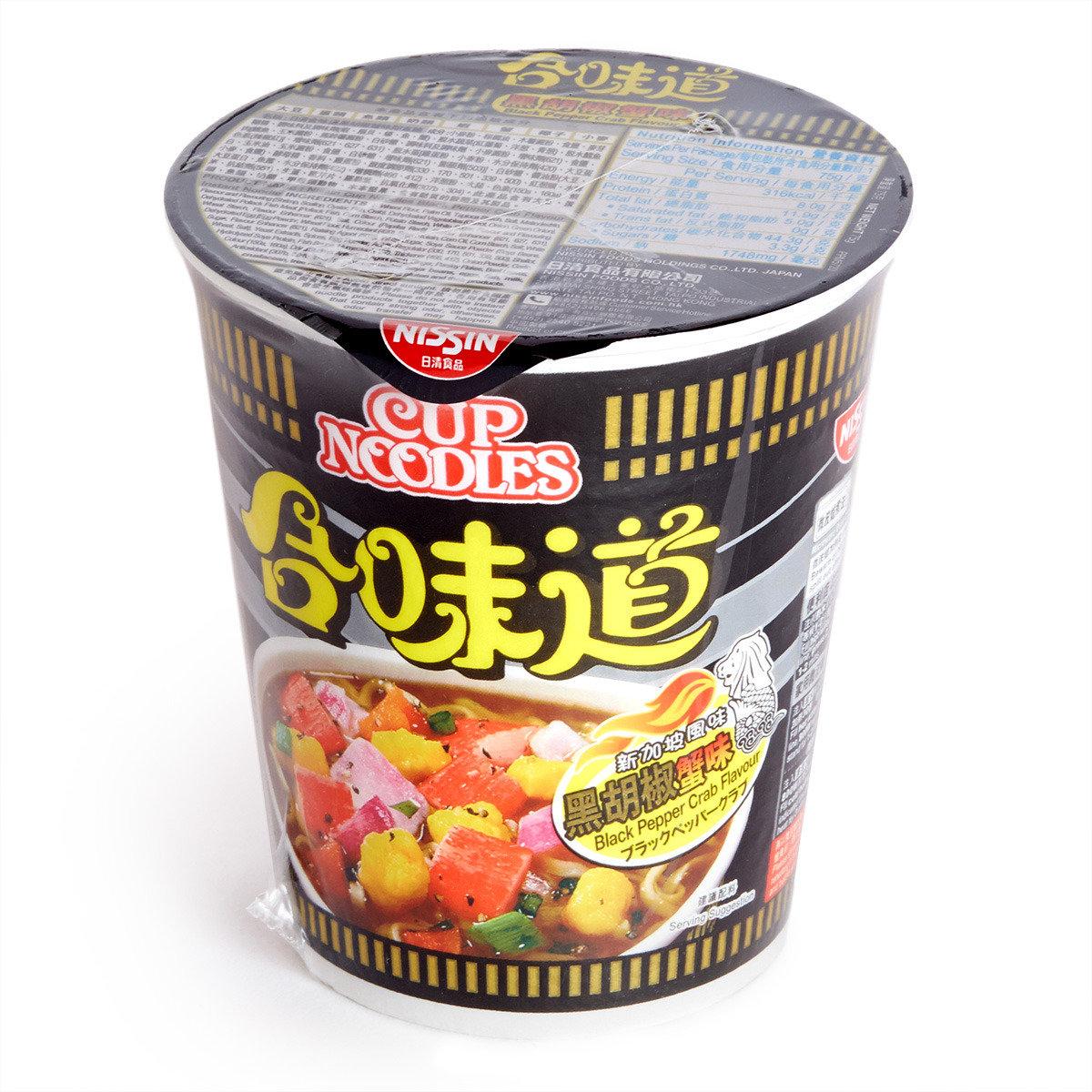 合味道 杯麵 - 黑胡椒蟹味