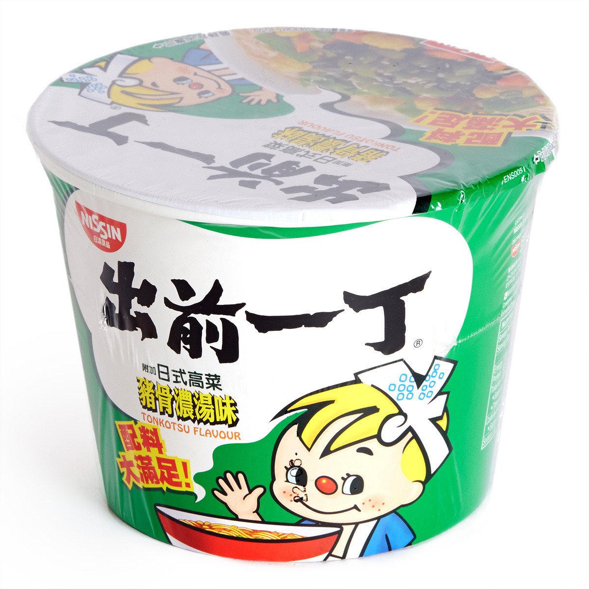 豬骨濃湯味即食麵 (碗麵)