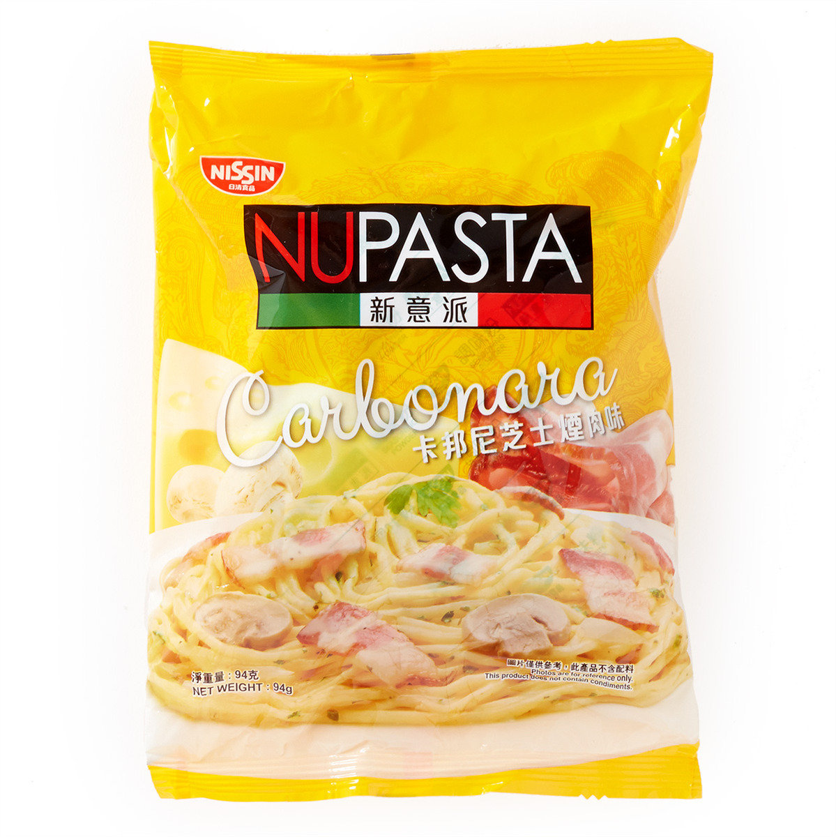新意派卡邦尼芝士煙肉味包裝即食麵