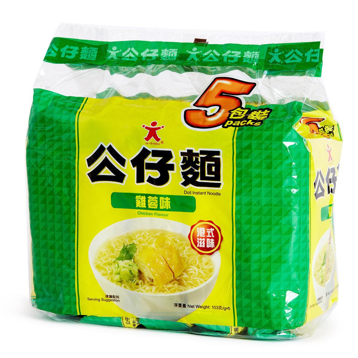 雞蓉公仔麵