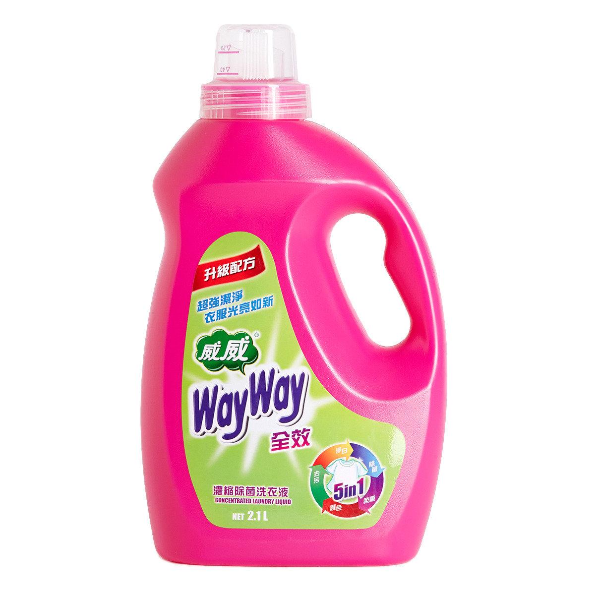 5合1濃縮洗衣液