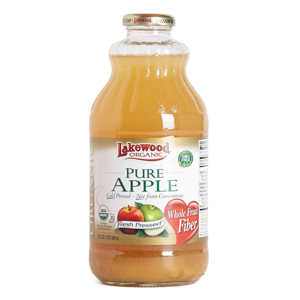 有機純蘋果汁