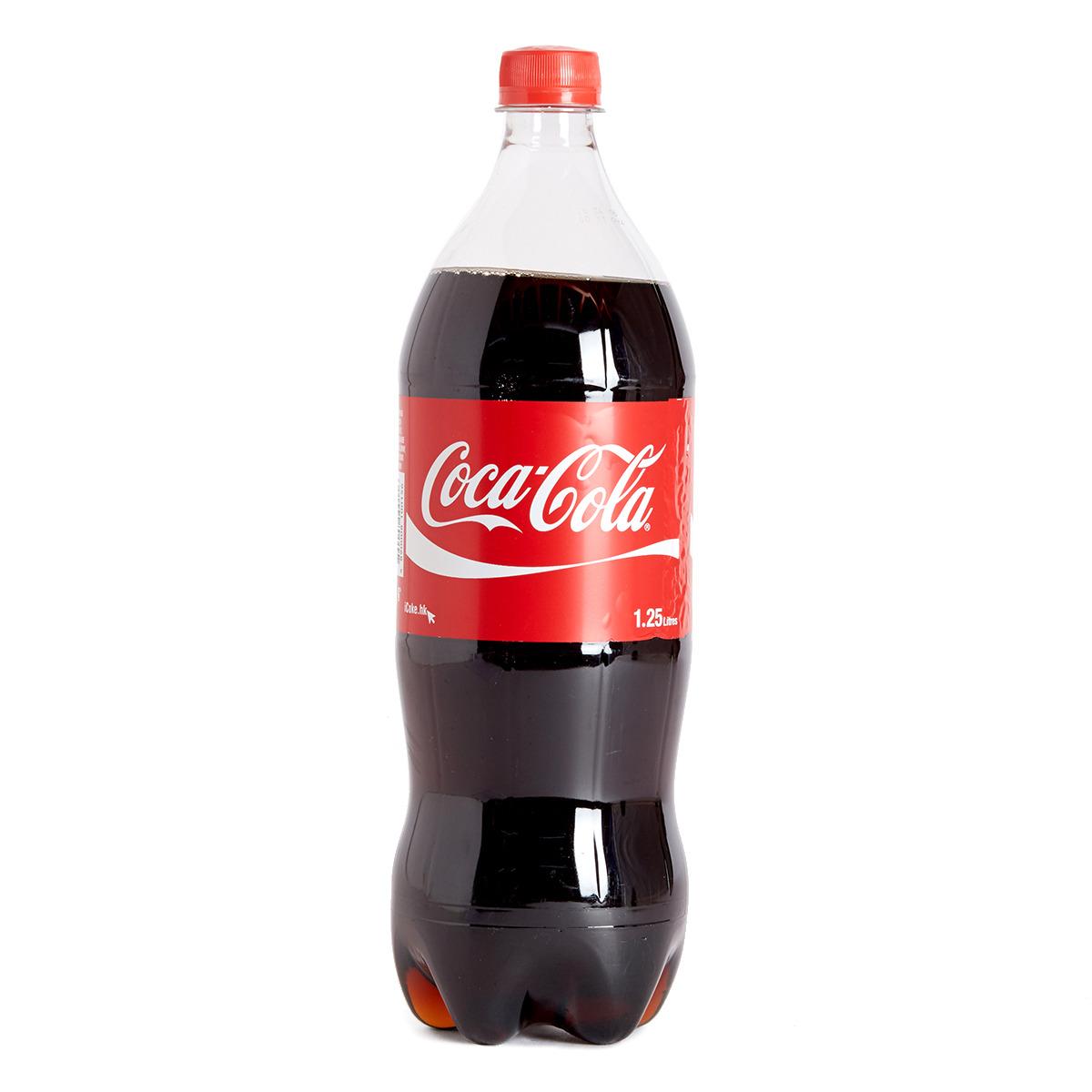 膠樽裝可口可樂汽水