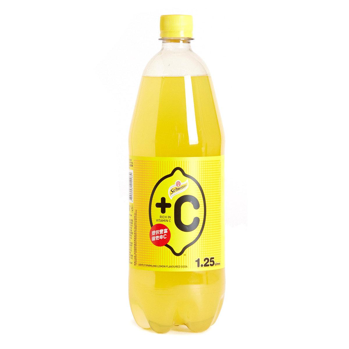 膠樽裝-+C有汽檸檬味汽水
