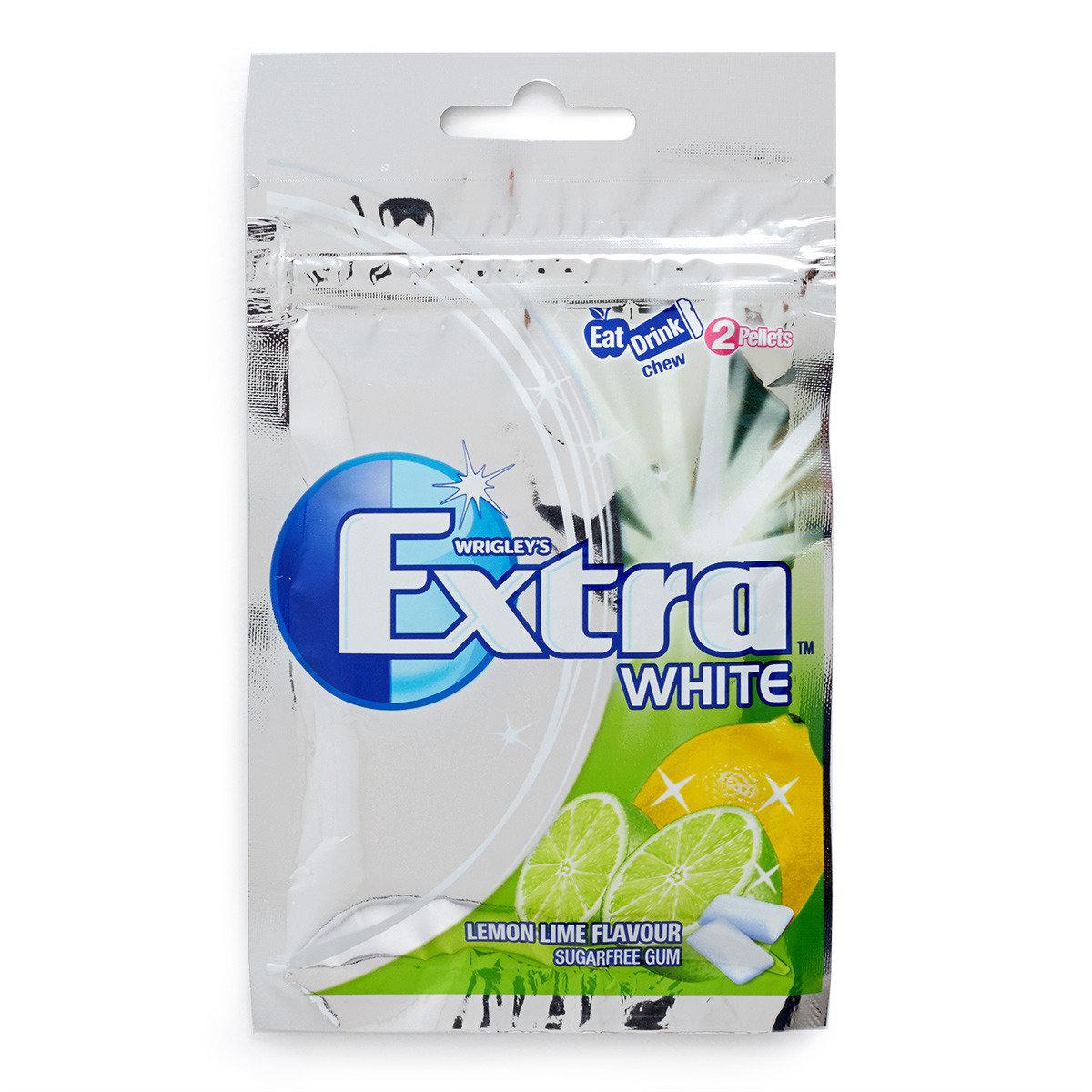 青黃雙檸味White 無糖香口珠袋裝