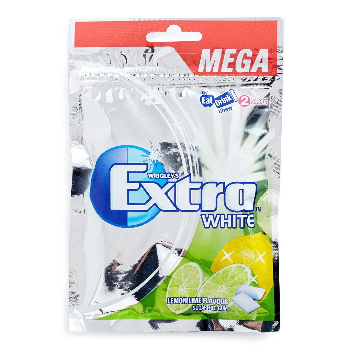 青黃雙檸味White 無糖香口珠補充裝