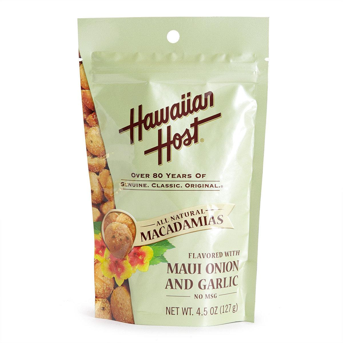 夏威夷果仁蔥蒜味