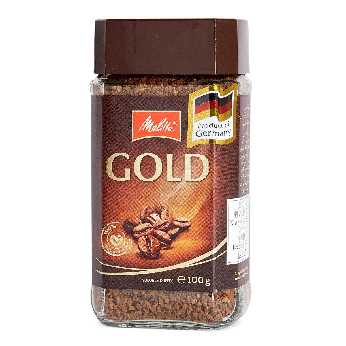 金牌即溶咖啡