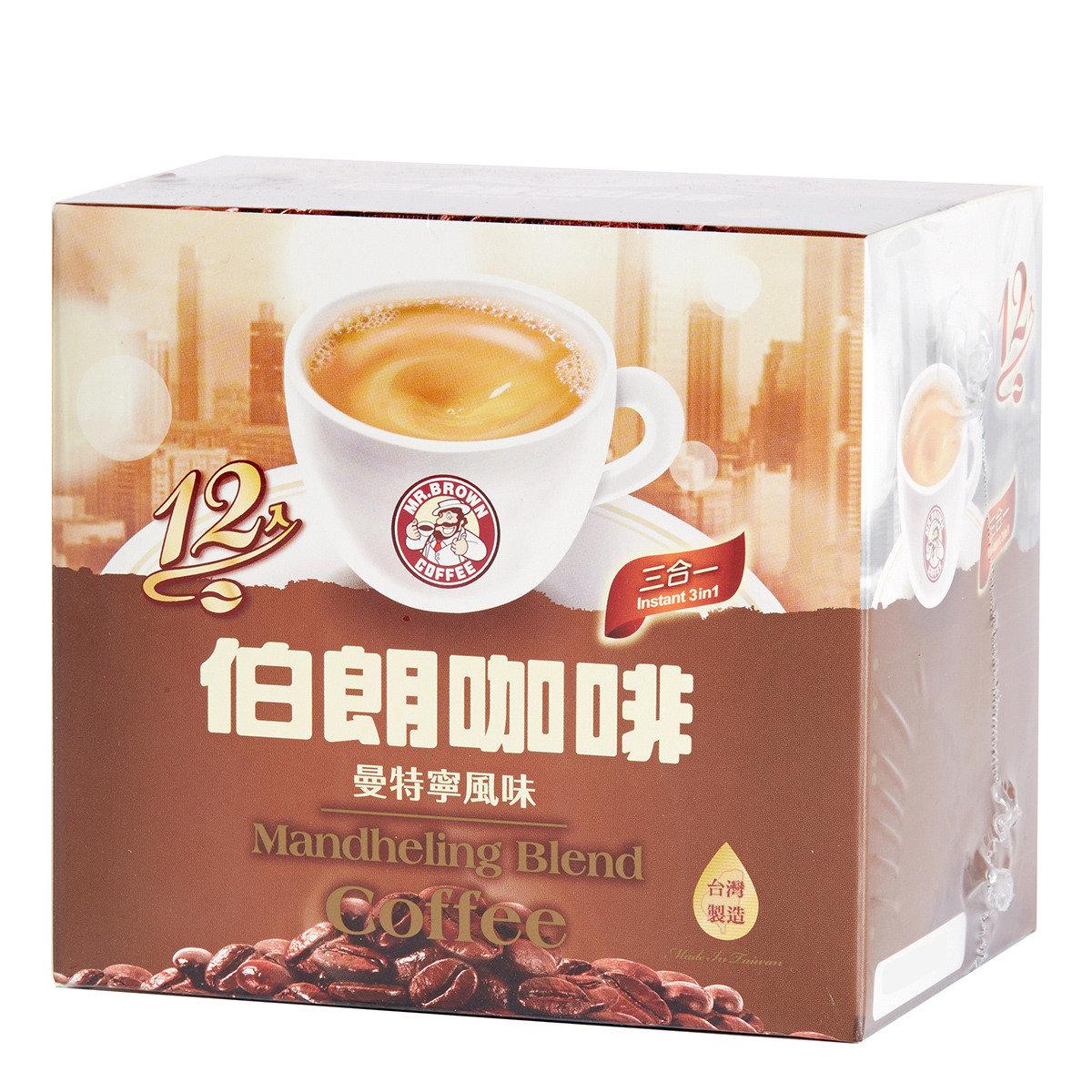 曼特寧風味三合一咖啡