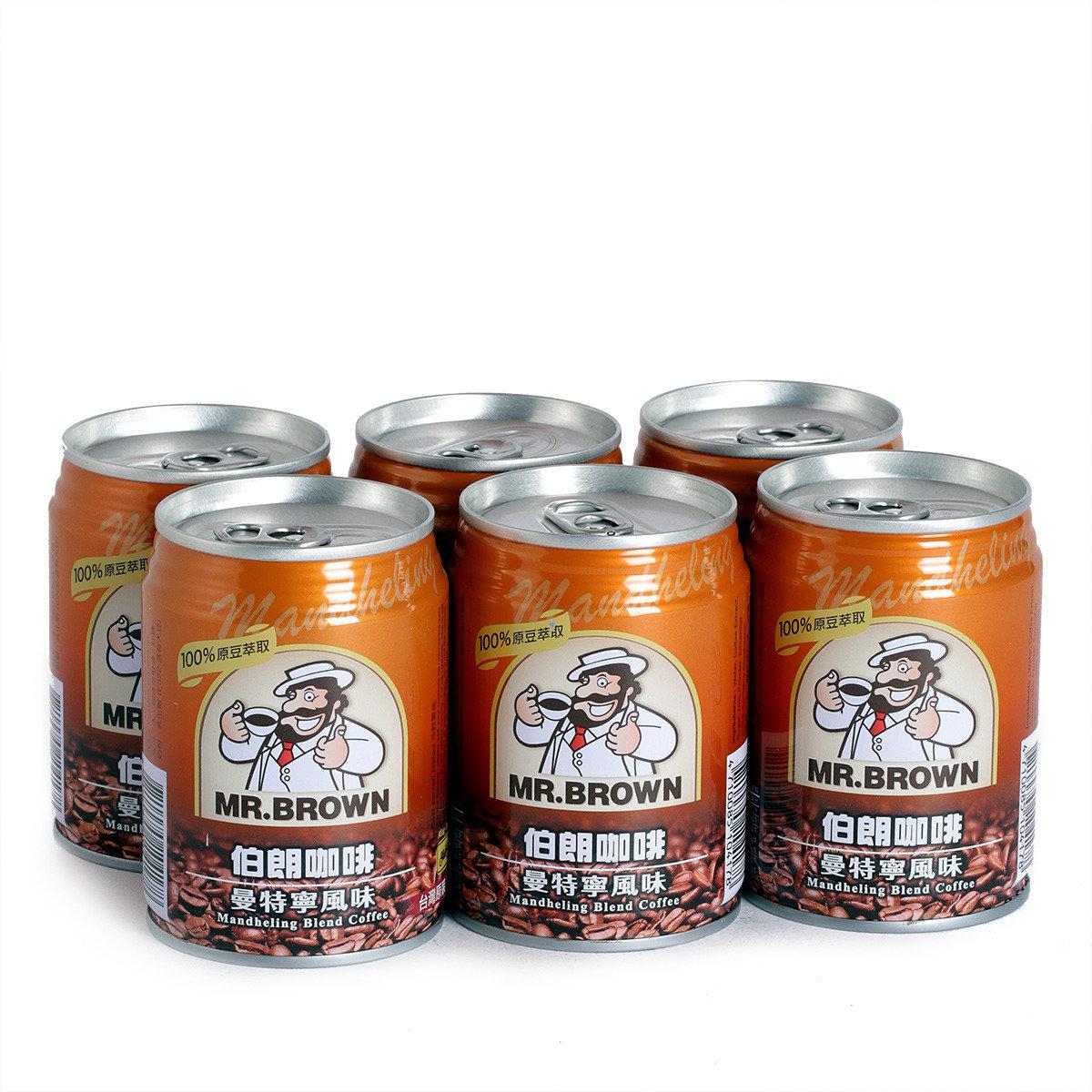 曼特寧風味咖啡-罐裝