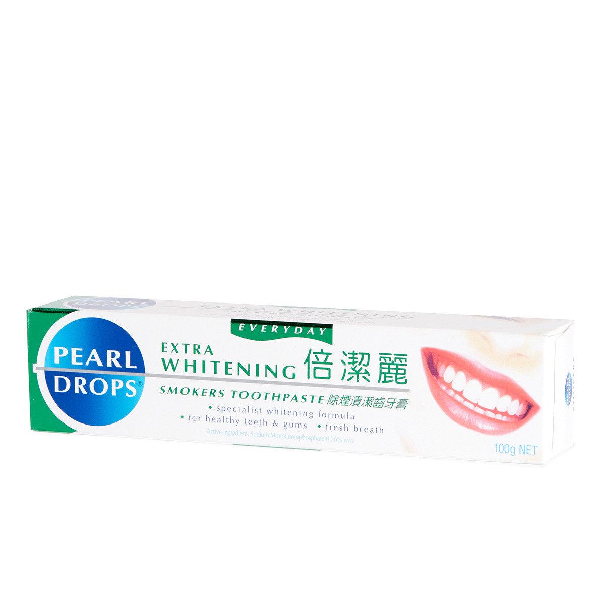 除煙漬潔齒牙膏