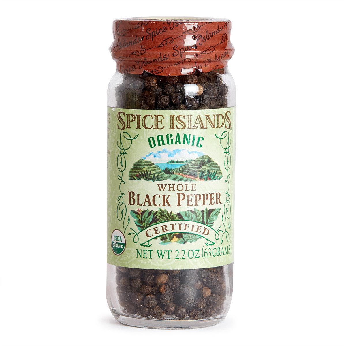 100%有機黑胡椒粒
