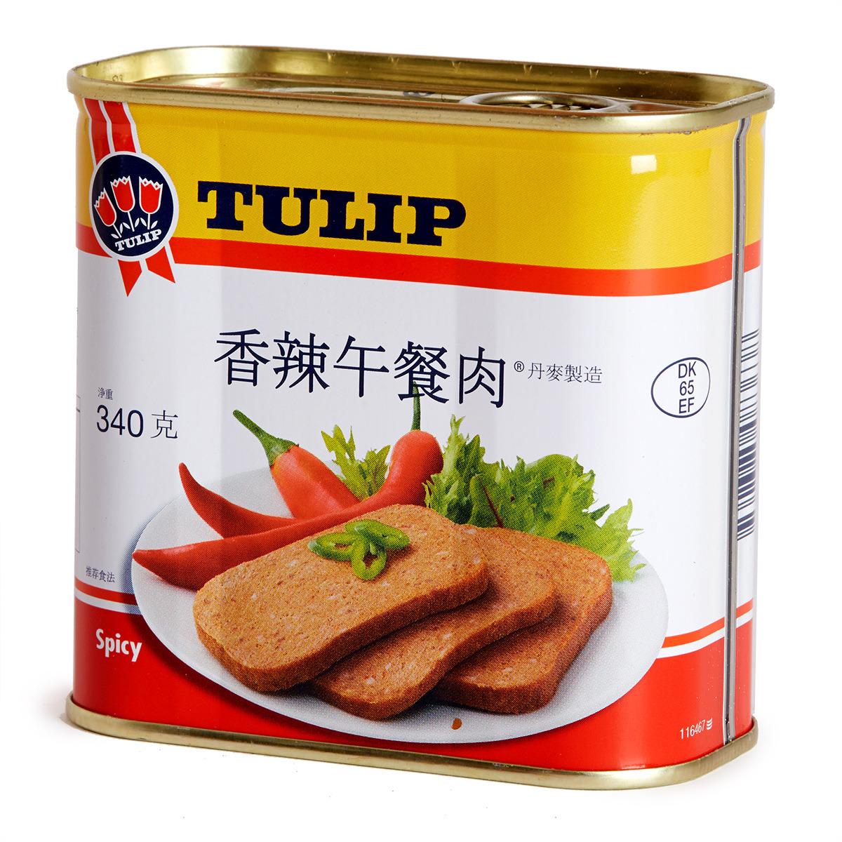 香辣午餐肉
