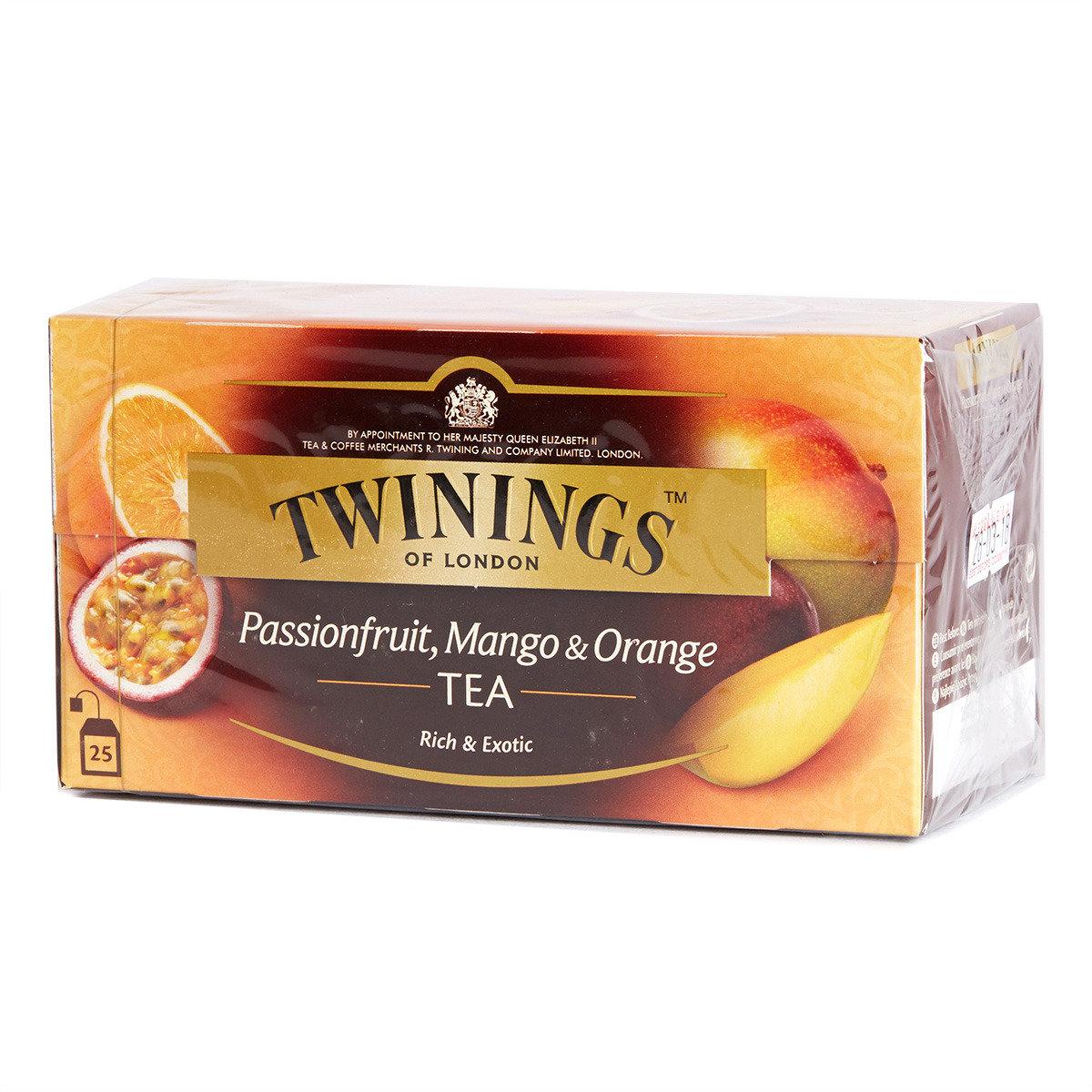 熱情果芒果橙紅茶