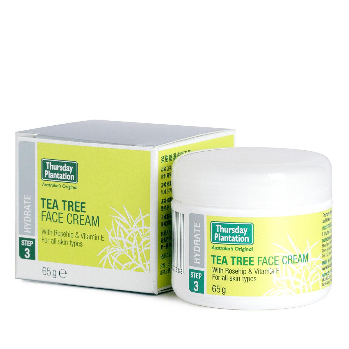 茶樹補濕修護面霜