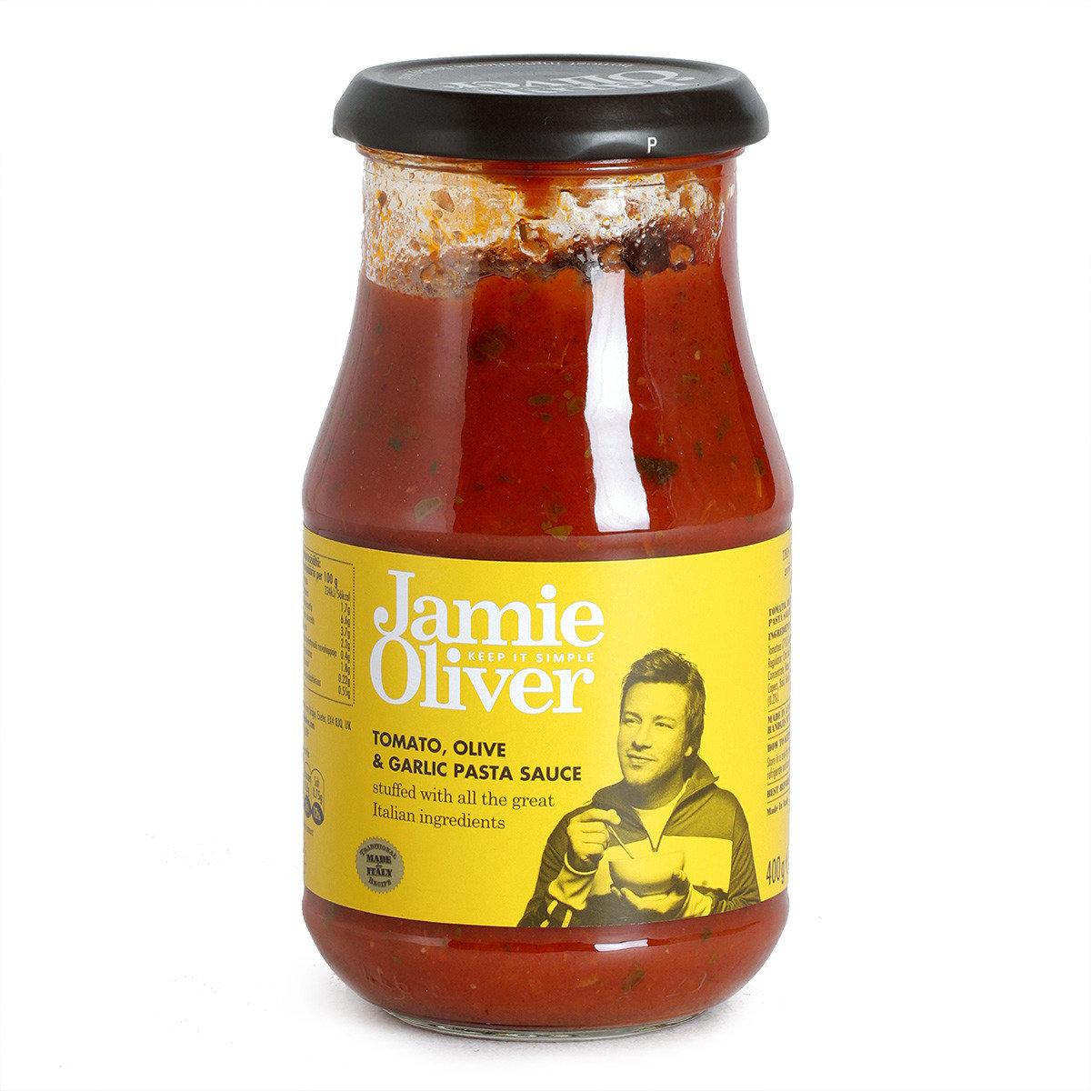 香蒜橄欖蕃茄意粉醬