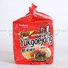 辣香菇味拉麵