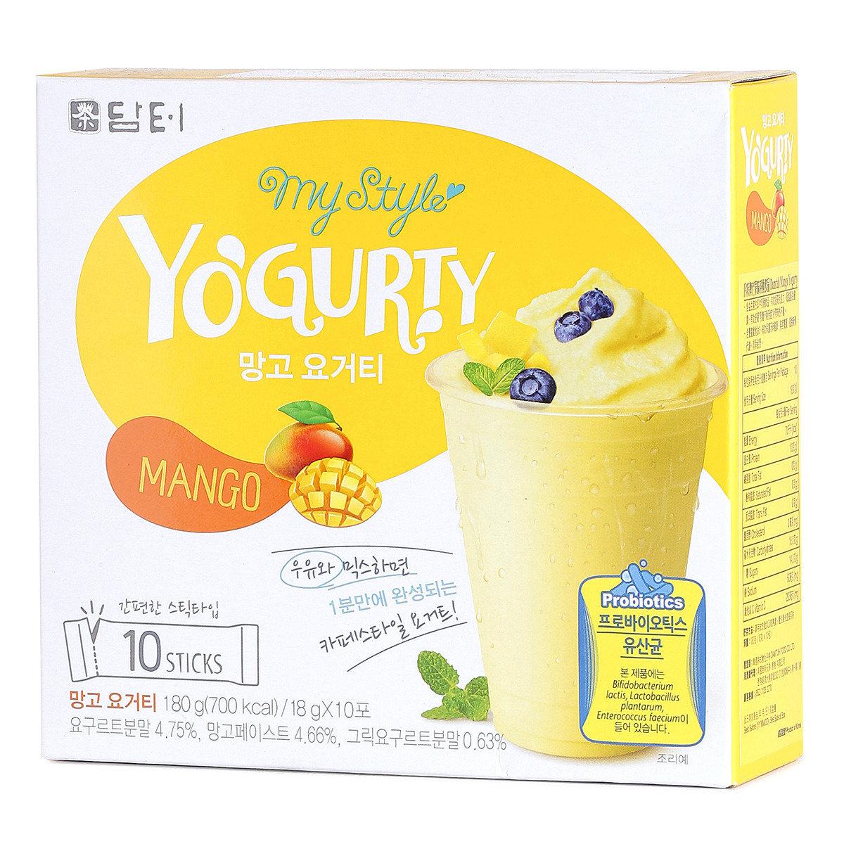 芒果味乳酸飲品