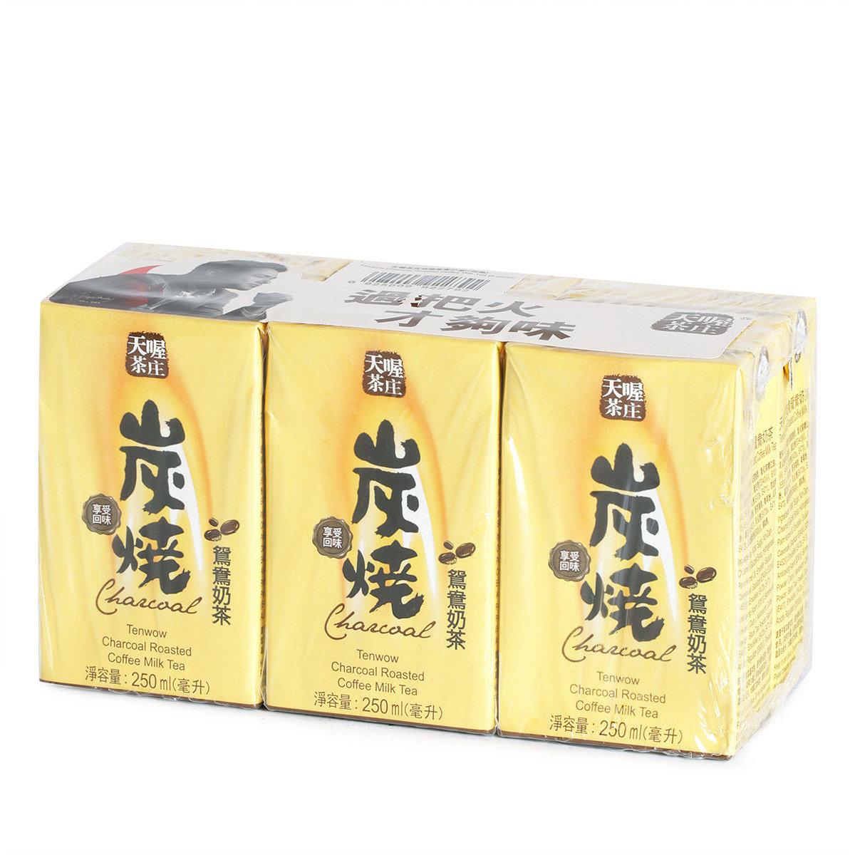 炭燒鴛鴦奶茶紙包裝