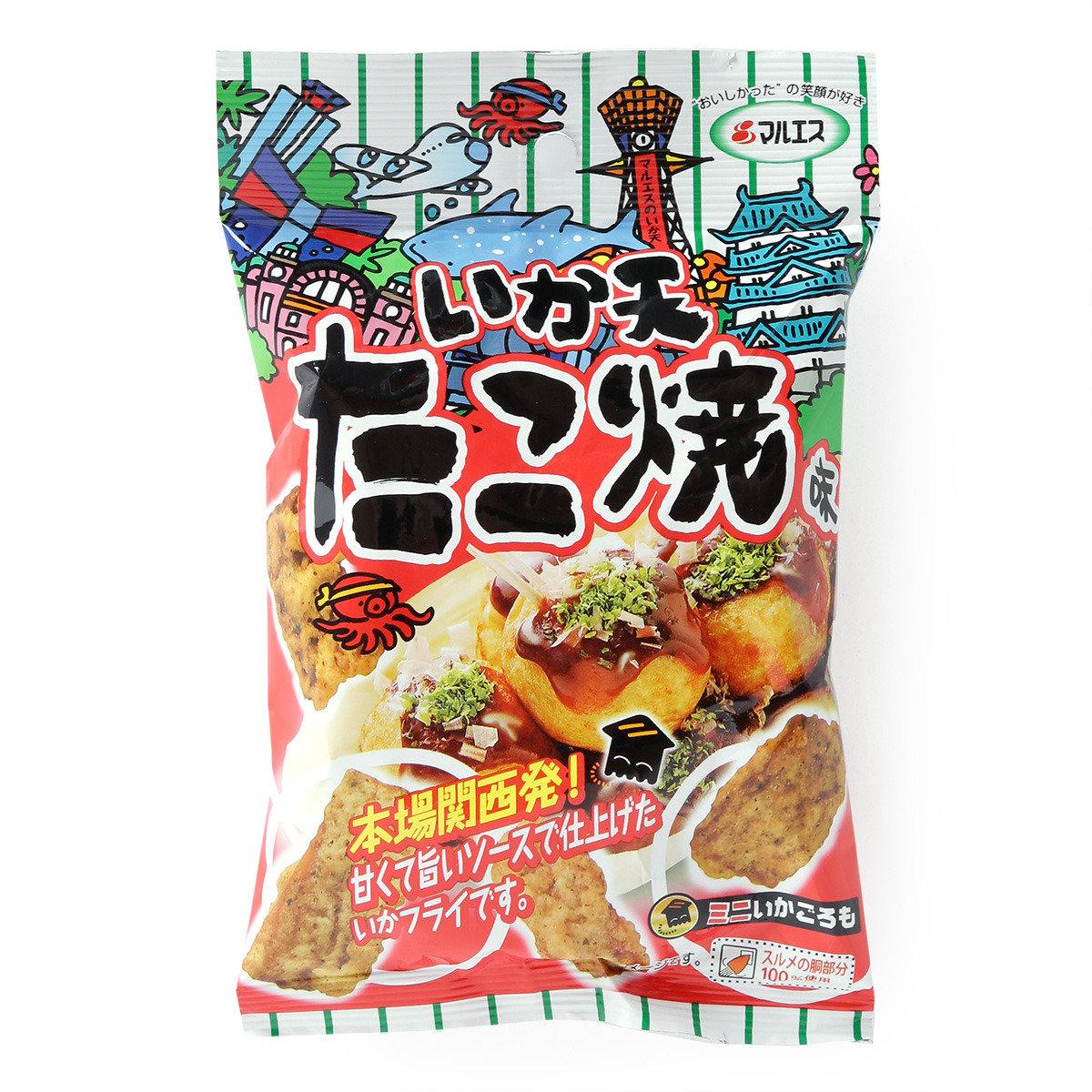 魷魚天婦羅(章魚丸子味)