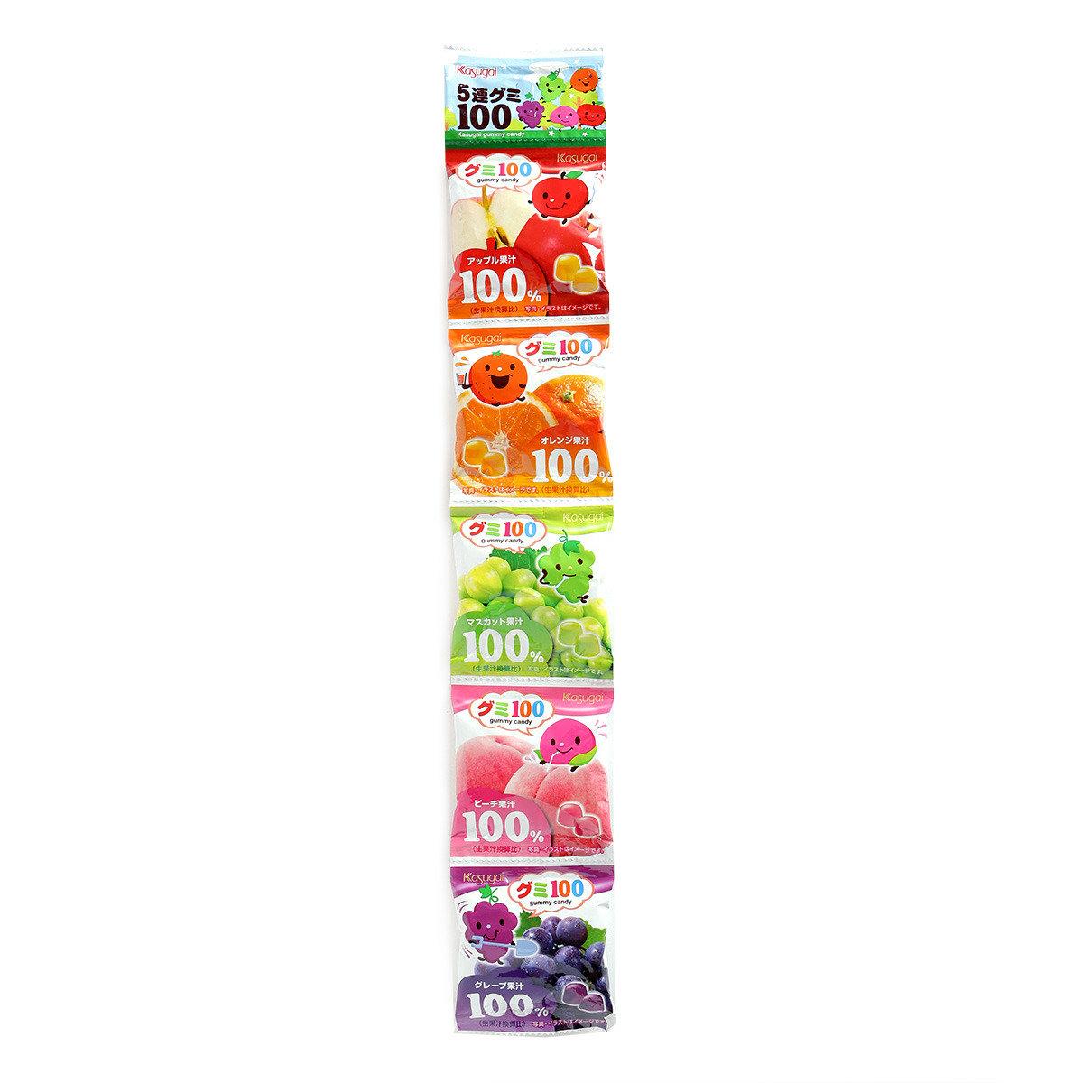 串裝水果味軟糖