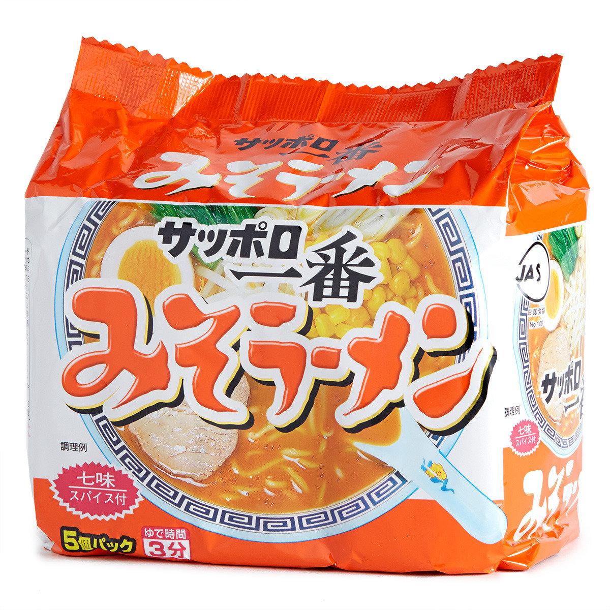 一番麵 (味噌)
