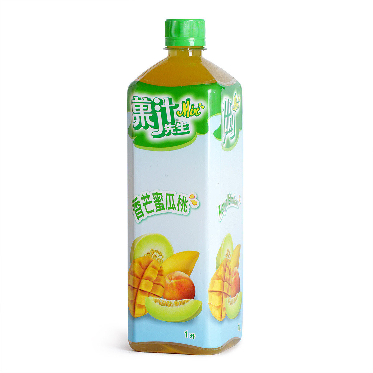 香芒蜜瓜桃汁飲品