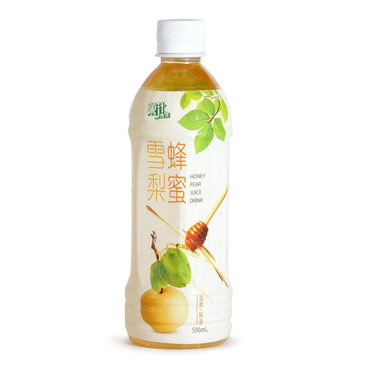 蜂蜜雪梨果汁飲品(賞味期限 : 29/03/2017)