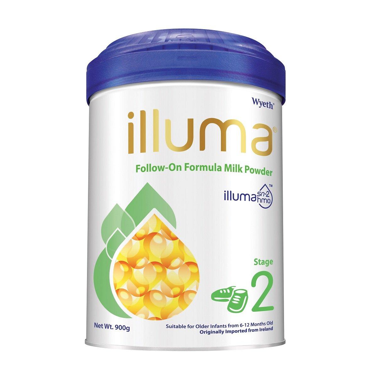 Wyeth Nutrition Illuma Hmo Stage 1, 0-6 Months Super ...