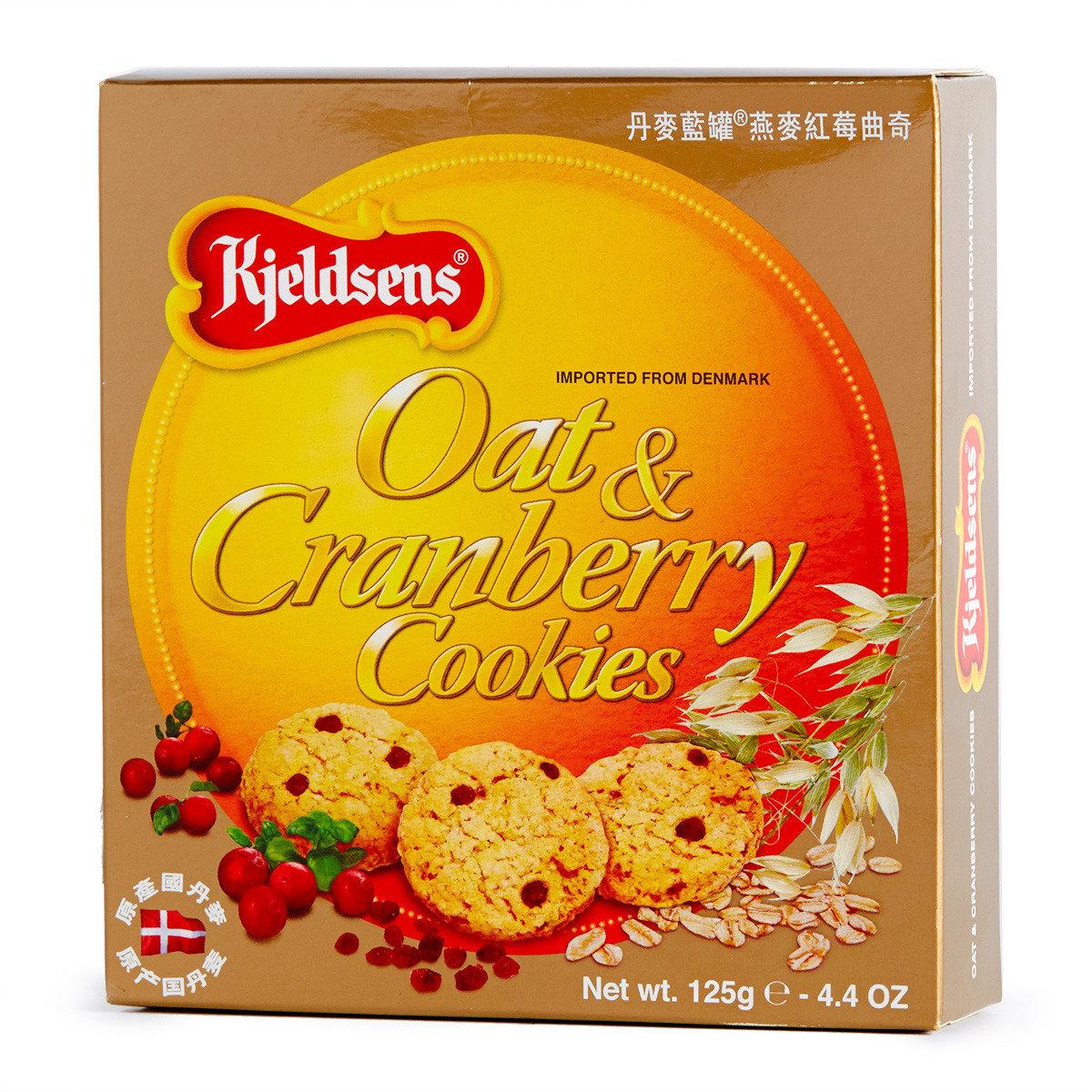 燕麥紅莓曲奇紙盒裝