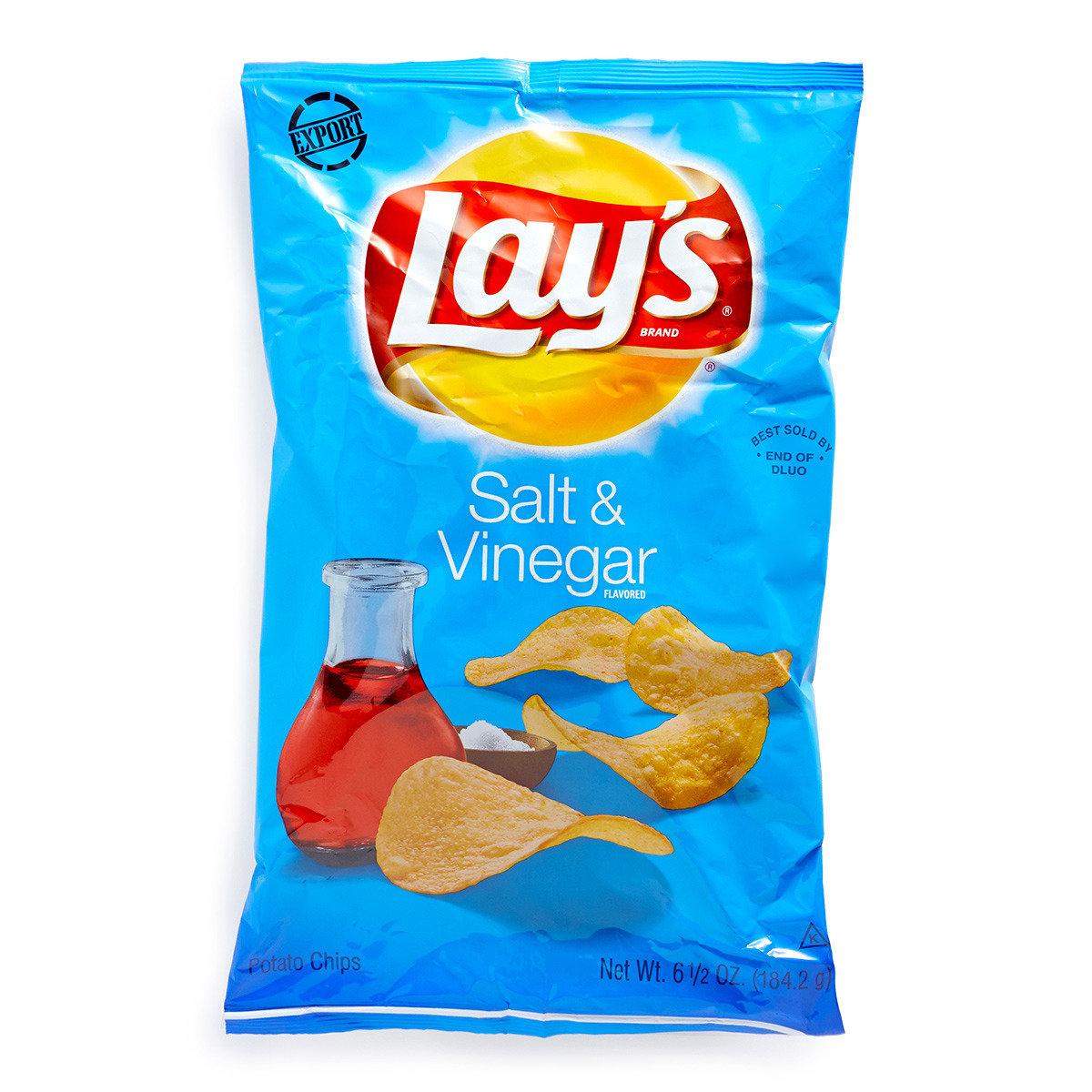 鹽醋味薯片