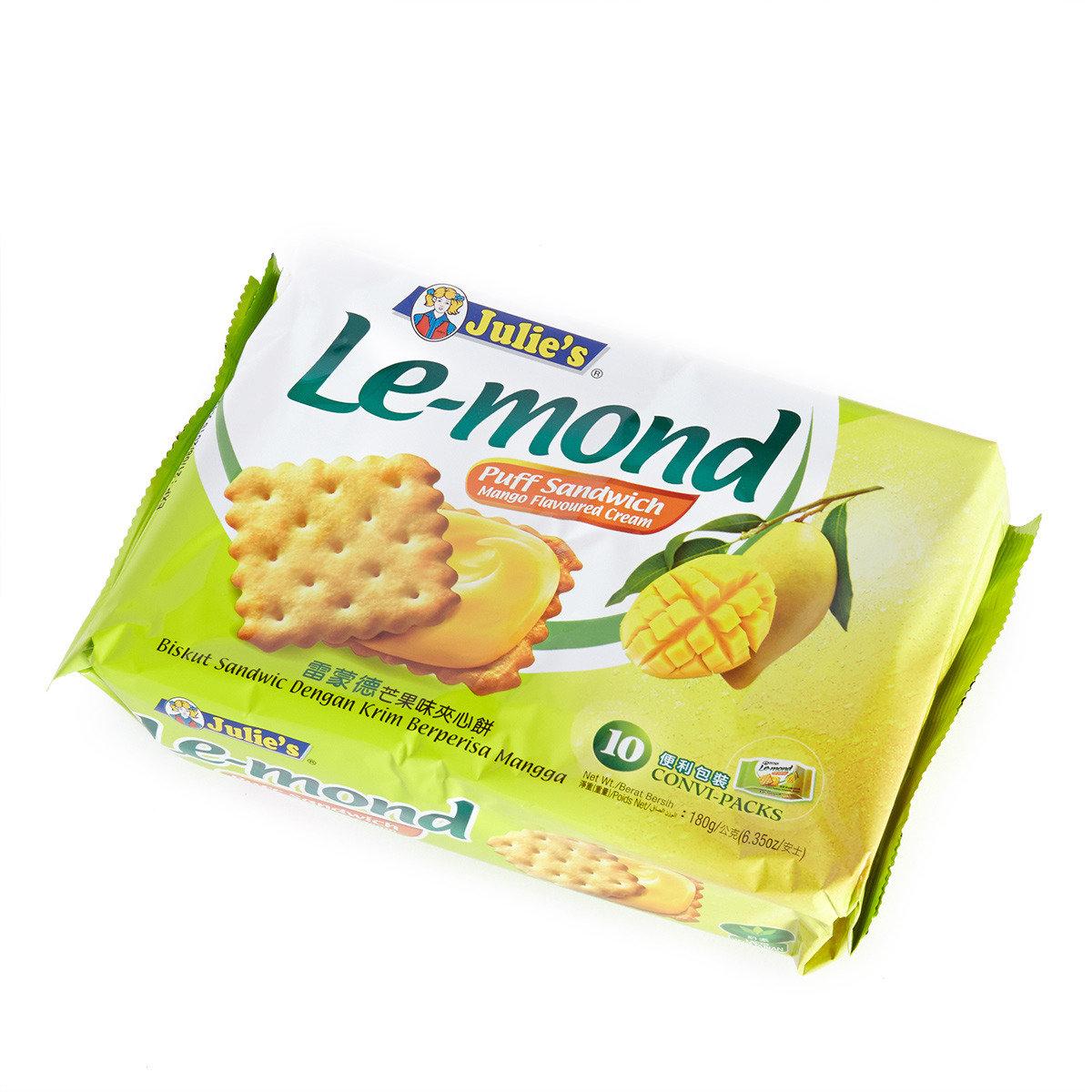 雷蒙德芒果味夾心餅