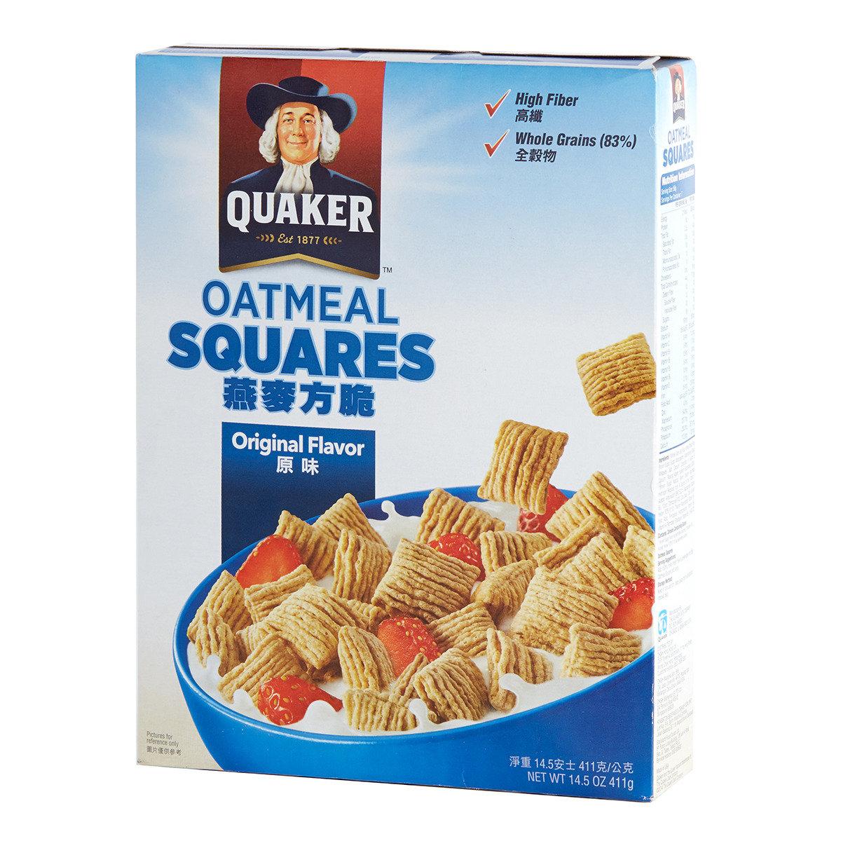 燕麥方脆穀類 – 原味