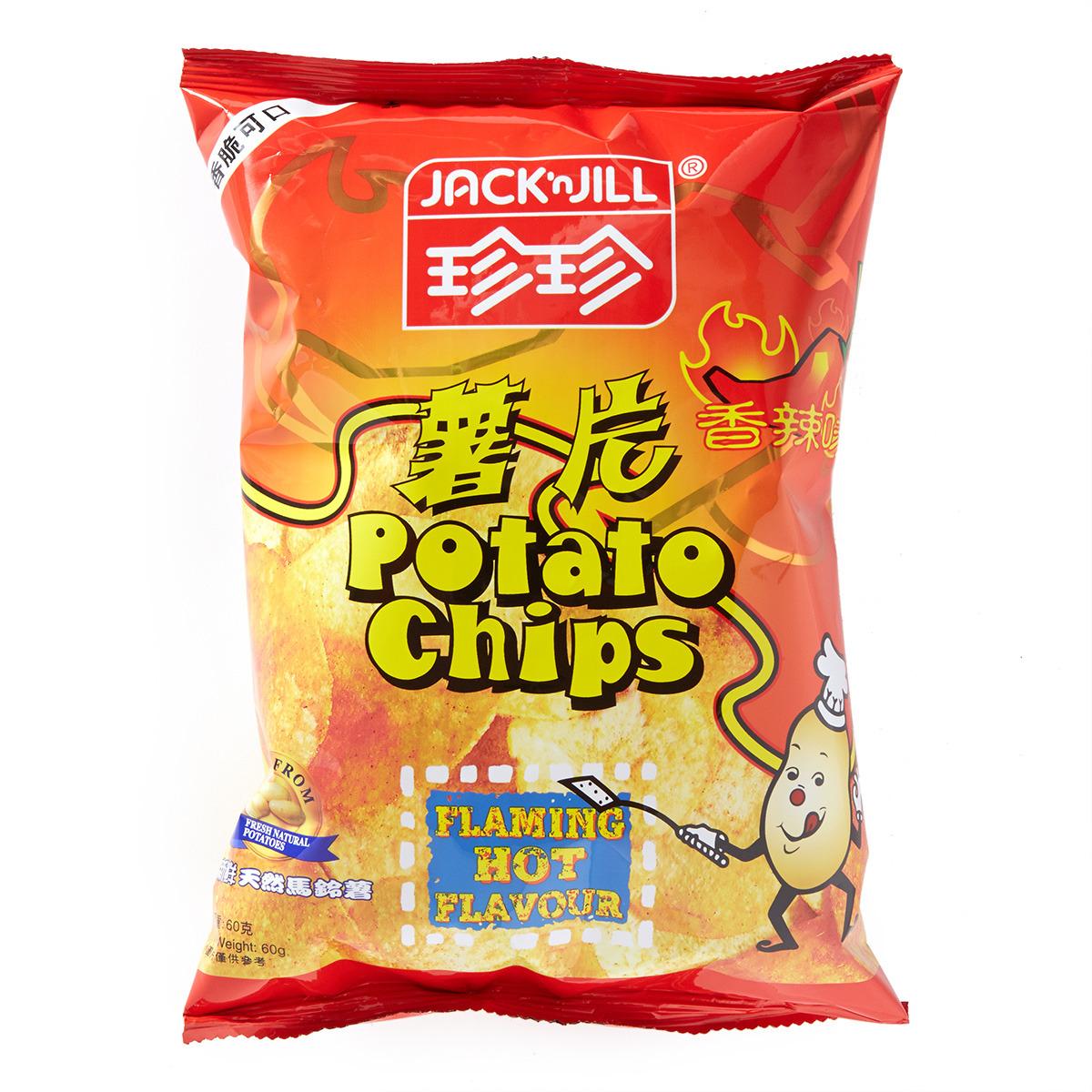薯片-香辣味